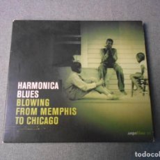 CDs de Música: HARMONICA BLUES. BLOWING FROM MENPHIS TO CHICAGO. Lote 195309723