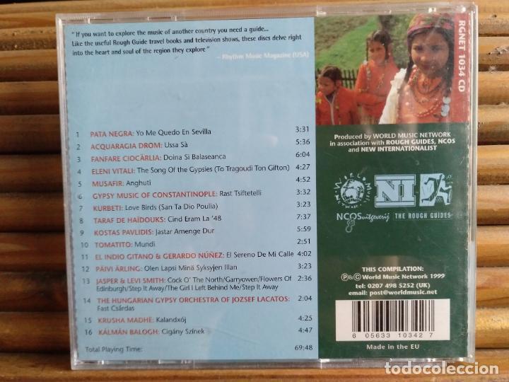 CDs de Música: Music of the Gypsies. The Rough guide. CD - Foto 2 - 195309881