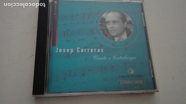 JOSEP CARRERAS CD CANTA A CATALUNYA CAJA DE MADRID LA VANGUARDIA 1995 (Música - CD's World Music)