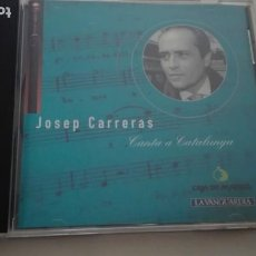 CDs de Música: JOSEP CARRERAS CD CANTA A CATALUNYA CAJA DE MADRID LA VANGUARDIA 1995. Lote 195311710