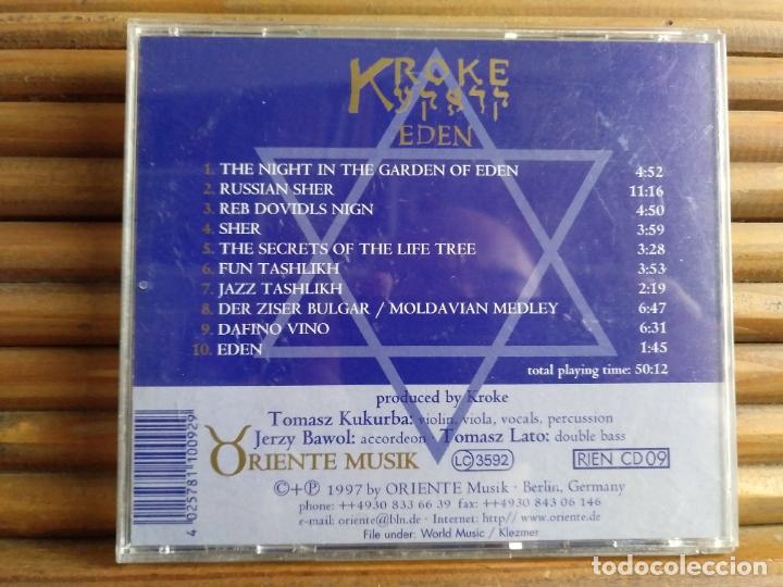 CDs de Música: Kroke. Eden. CD - Foto 2 - 195312592