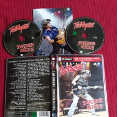 CDs de Música: TED NUGENT: SWEDEN ROCKS. CD + DVD.. Lote 195316212