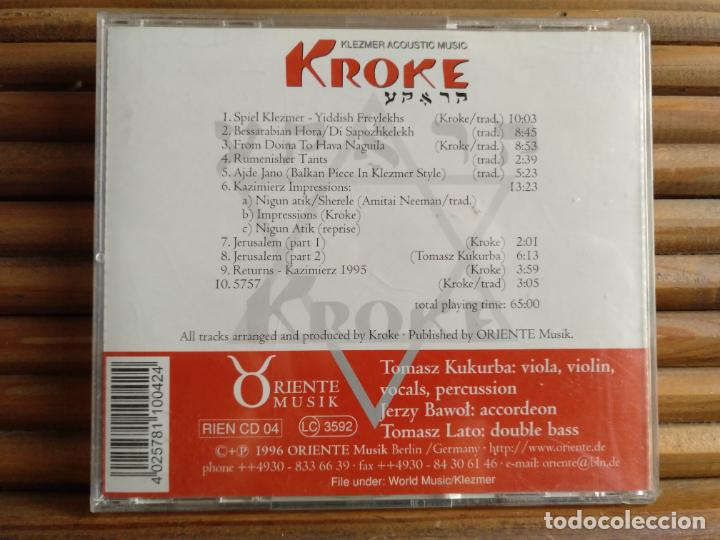 CDs de Música: Kroke. Trio. Klezmer Acoustic music. CD - Foto 2 - 195316256