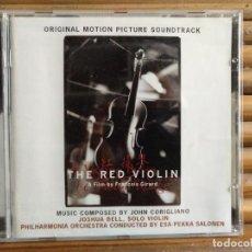 CDs de Música: BSO EL VIOLÍN ROJO. THE RED VIOLIN. ORIGINAL MOTION PICTURE SOUNDTRACK. CD. Lote 195316762