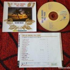 CDs de Música: LOS PANCHOS & PEREZ PRADO **BESAME MUCHO** CD JAPONES MUY RARO. Lote 195317177