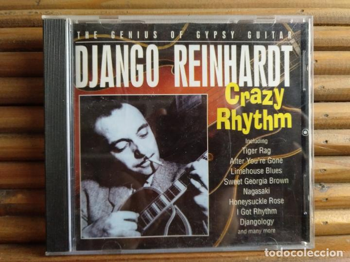 DJANGO REINHARDT. CRAZY RHYTHM. CD (Música - CD's Jazz, Blues, Soul y Gospel)