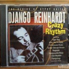 CDs de Música: DJANGO REINHARDT. CRAZY RHYTHM. CD. Lote 195317405