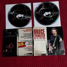 CDs de Música: BRUCE SPRINGSTEEN AND THE E STREET BAND: THE BIG FIESTA. 2CD'S BILBAO, SPAIN BEC,NOVEMBER 26,2007. Lote 195318671