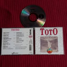 CDs de Música: TOTO: LIVE USA. CD RECORDED LIVE.. Lote 195319126