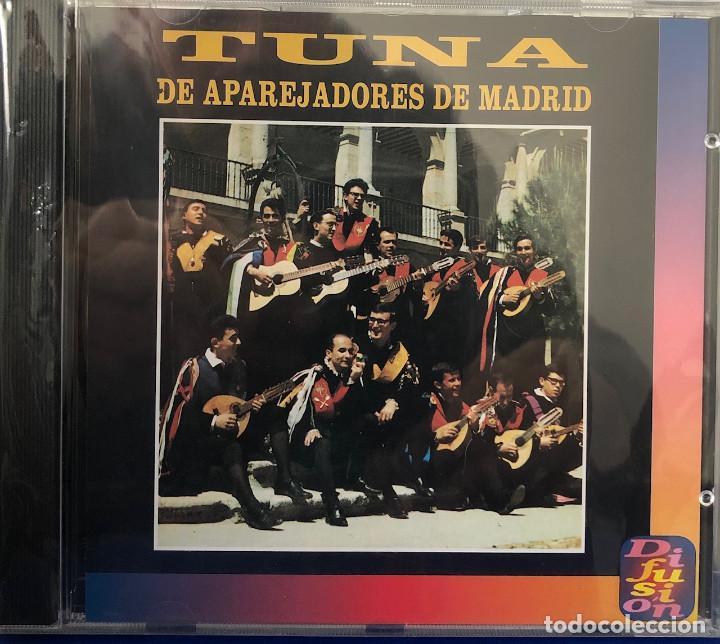 TUNA DE APAREJADORES DE MADRID, CD ÁLBUM (Música - CD's Flamenco, Canción española y Cuplé)