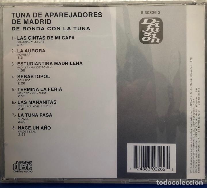 CDs de Música: TUNA de Aparejadores de MADRID, cd Álbum - Foto 2 - 195320752