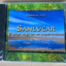 CDs de Música: CARNAVAL DE CÁDIZ, CD CORO. SANLÚCAR. Lote 195320998