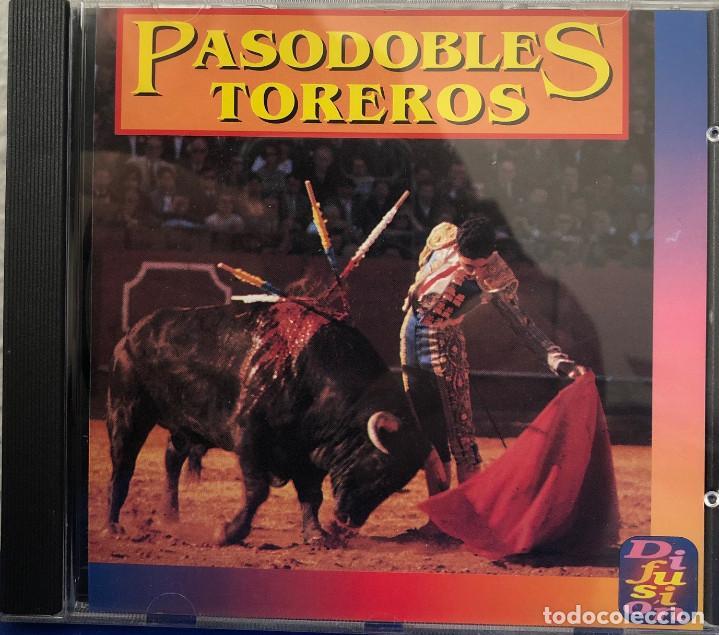 PASODOBLES TOREROS CD ÁLBUM (Música - CD's Flamenco, Canción española y Cuplé)