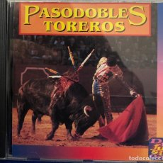 CDs de Música: PASODOBLES TOREROS CD ÁLBUM. Lote 195321037