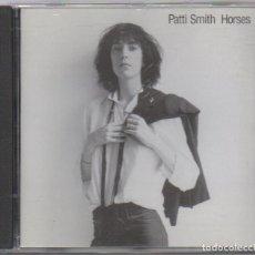 CDs de Música: PATTI SMITH - HORSES / CD ALBUM DE 1996 / MUY BUEN ESTADO RF-4957. Lote 195324280