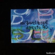 CDs de Música: MIGUEL BOSE DIRECTO 90 - CASI COMO NUEVO. Lote 195324692