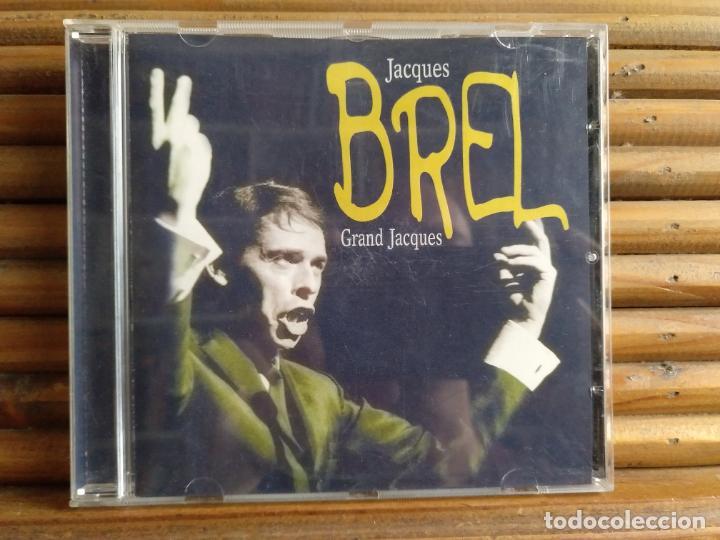 JACQUES BREL. GRAND JACQUES. CD (Música - CD's World Music)
