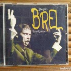 CDs de Música: JACQUES BREL. GRAND JACQUES. CD. Lote 195329320