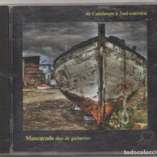 CDs de Música: MASCARADE DUO DE GUITARRES - DE CATALUNYA A SUD-AMERICA / CD ALBUM 2008 / MUY BUEN ESTADO RF-4960. Lote 195329547
