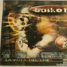 CDs de Música: BOIKOT-LA RUTA DEL CHE-CD SINGLE PROMO-PUNK RARO. Lote 195329785