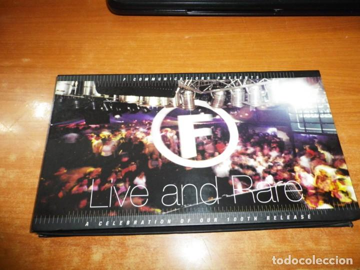 F COMMUNICATIONS PRESENT LIVE AND RARE A CELEBRATION OF OUR 100TH RELEASE BOX SET 2 CD 1998 DISCO (Música - CD's Techno)