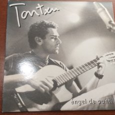 CDs de Música: TONXU CD SINGLE PROMO ANGEL DE PUNTILLAS + 5€ ENVIO C.N.. Lote 195330783
