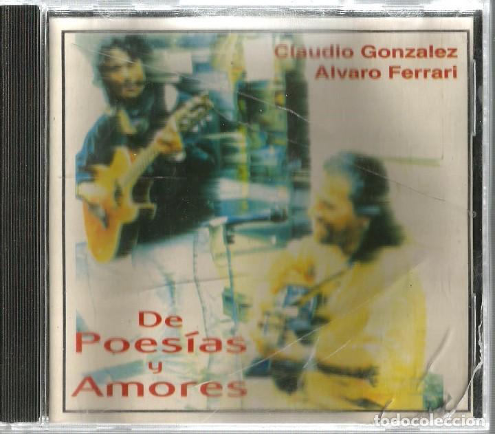 CD CLAUDIO GONZALEZ & ALVARO FERRARI : TEMAS DE BILLY JOEL, SERRAT, SILVIO RODRIGUEZ, LUIS GIECO ETC (Música - CD's Otros Estilos)