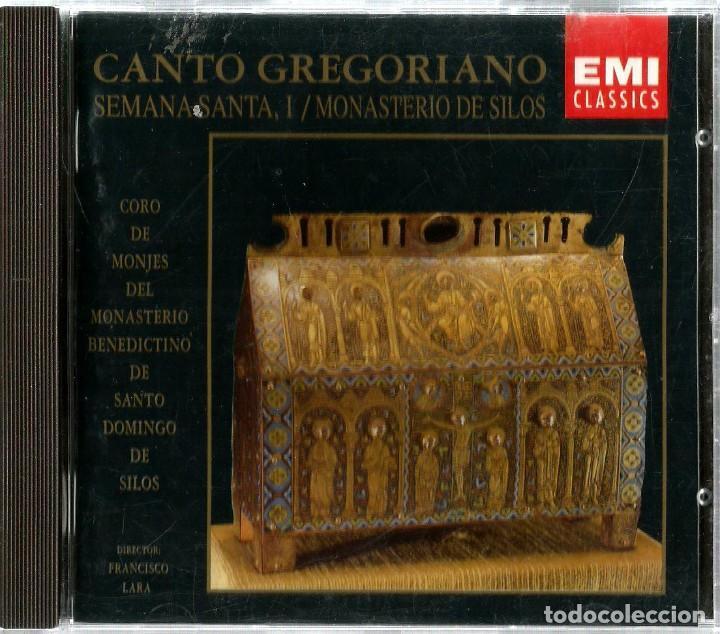 CD CORO DE MONJES DEL MONASTERIO DE SANTO DOMINGO DE SILOS : CANTO GREGORIANO : SEMANA SANTA (Música - CD's Otros Estilos)