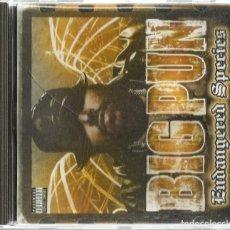 CDs de Música: CD BIG PUN : ENDANGERED SPECIES . Lote 195331481