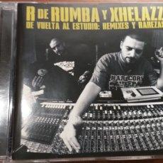 CDs de Música: R DE RUMBAYXHELAZZCDDE VUELTA AL ESTUDIO REMIXES Y RAREZAS. Lote 195331750