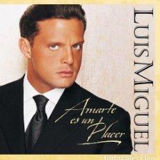 CDs de Música: LUIS MIGUEL – AMARTE ES UN PLACER (EU, 1999). Lote 195333776