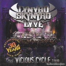 CDs de Música: LYNYRD SKYNYRD - LYVE (2 X CD. EU, 2003). Lote 195334861