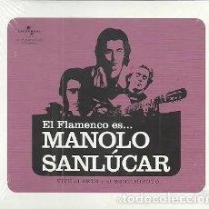 CDs de Música: EL FLAMENCO ES... MANOLO SANLUCAR - UNIVERSAL - CD NUEVO PRECINTADO.. Lote 195339861