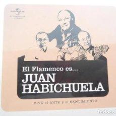 CDs de Música: EL FLAMENCO ES... JUAN HABICHUELA - UNIVERSAL - CD NUEVO PRECINTADO.. Lote 195340053
