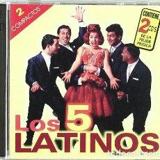 CDs de Música: LOS 5 LATINOS - LO MEJOR DE LOS 5 LATINOS (DOBLE CD, PROMO SOUND 1999). Lote 195341600