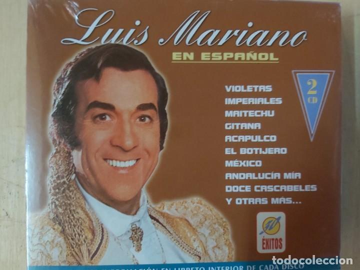 LUIS MARIANO EN ESPAÑOL (2CDS) (Música - CD's Flamenco, Canción española y Cuplé)