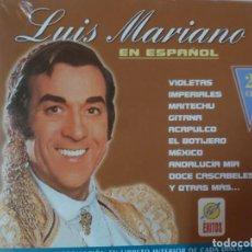 CDs de Música: LUIS MARIANO EN ESPAÑOL (2CDS). Lote 195344185
