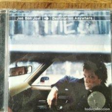 CDs de Música: JON BON JOVI - DESTINATION ANYWHERE - CD. Lote 195355933