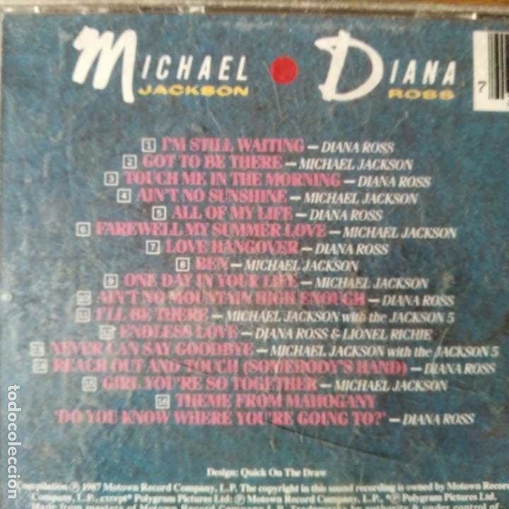 CDs de Música: MICHAEL JACKSON & DIANA ROSS - LOVE SONGS - CD - Foto 2 - 195356105