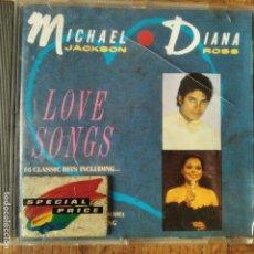 CDs de Música: MICHAEL JACKSON & DIANA ROSS - LOVE SONGS - CD. Lote 195356105