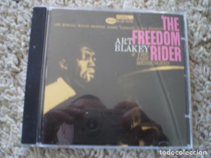 CD. ART BLAKEY. THE FREEDOM RIDER. LIBRETO. MUY BUENA CONSERVACION (Música - CD's Jazz, Blues, Soul y Gospel)