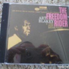 CDs de Música: CD. ART BLAKEY. THE FREEDOM RIDER. LIBRETO. MUY BUENA CONSERVACION. Lote 195357518