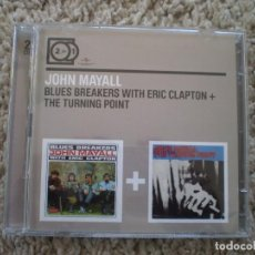 CDs de Música: DOBLE CD. JOHN MAYALL. BLUES BREAKERS...+ THE TURNING POINT. MUY BUENA CONSERVACION. Lote 195357771