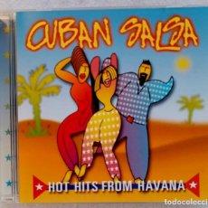 CDs de Música: V.ARIOS - CUBAN SALSA HOT HITS FROM HAVANA - CD 1999 - PRISM. Lote 195357798