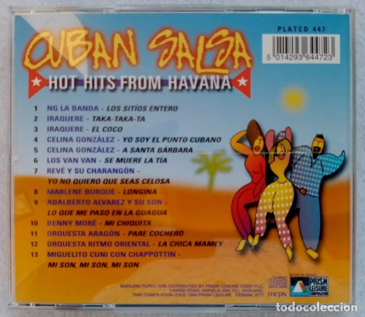 CDs de Música: V.ARIOS - CUBAN SALSA hot hits from Havana - CD 1999 - PRISM - Foto 3 - 195357798