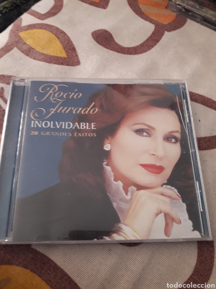 ROCIO JURADO. INOLVIDABLE. 20 GRANDES ÉXITOS. EDICION EMI DE 2006. (Música - CD's Flamenco, Canción española y Cuplé)