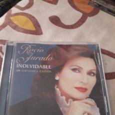 CDs de Música: ROCIO JURADO. INOLVIDABLE. 20 GRANDES ÉXITOS. EDICION EMI DE 2006.. Lote 195357900