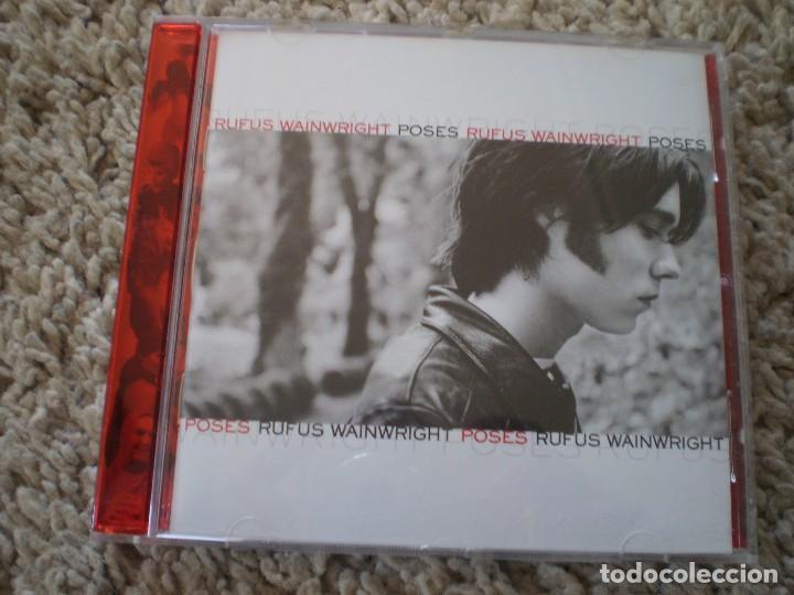 CD. RUFUS WAINWRIGHT. POSES. LIBRETO. MUY BUENA CONSERVACION (Música - CD's Rock)