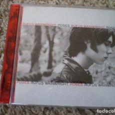 CDs de Música: CD. RUFUS WAINWRIGHT. POSES. LIBRETO. MUY BUENA CONSERVACION. Lote 195358681