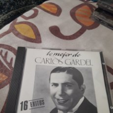 CDs de Música: LO MEJOR DE CARLOS GARDEL. 16 EXITOS. EDICION DE 1988.. Lote 195358778